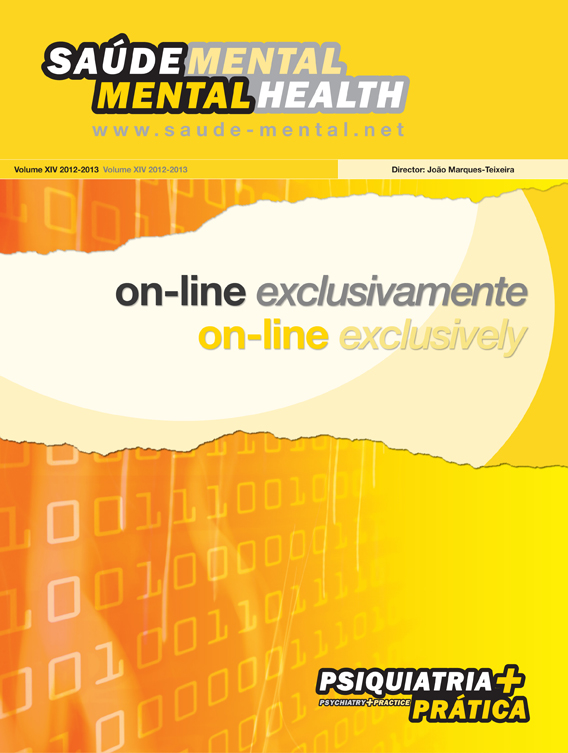 Revista Sa�de Mental On-Line